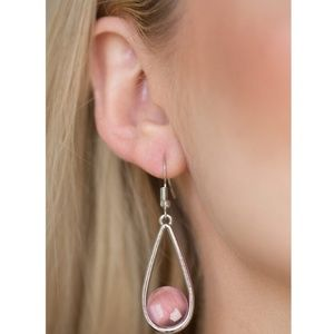 Paparazzi - Pink - Earrings - #207